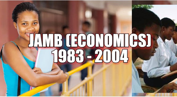 Economics  (JAMB) Past Questions image