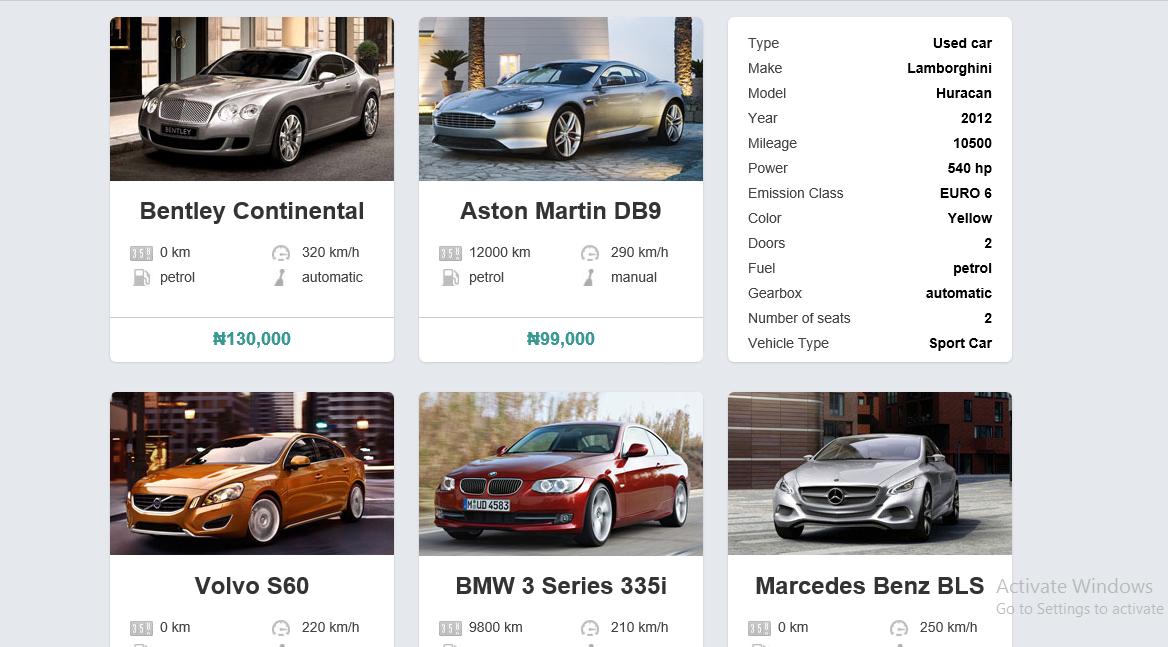 Gems Mobile Money :: Cars Listing Script