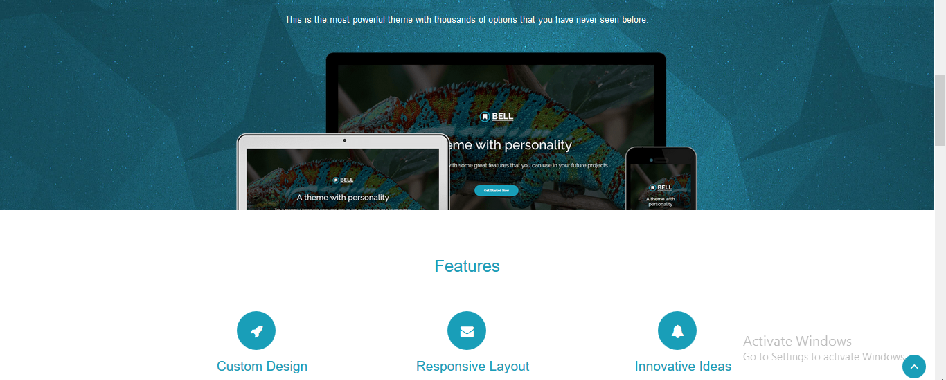 Responsive Web Template 002